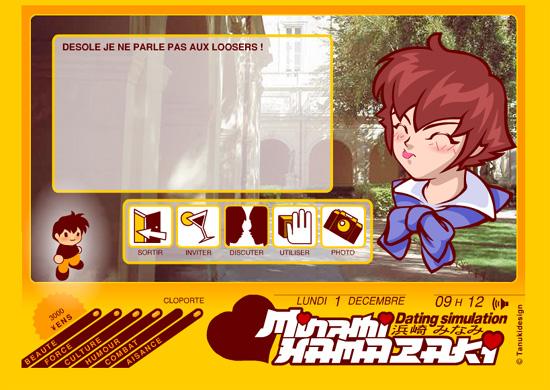 jeu dating simulation minami Quest-ce que jaime replonger dans mes souvenirs on y retrouve des choses plut244t cool comme le jeu flash minami hamazaki dating simulation le jeu jeux de.
