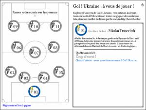 Un jeu d'enquête permet aux internautes de vivre l'expérience Gol! autrement.