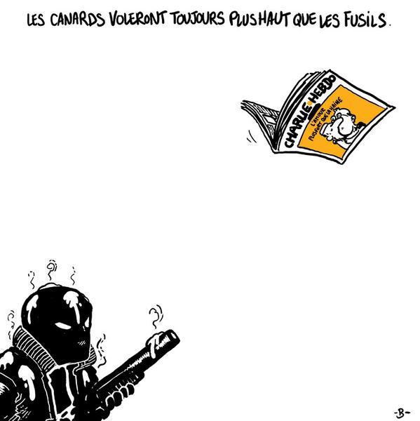 Illustration signée Boulet