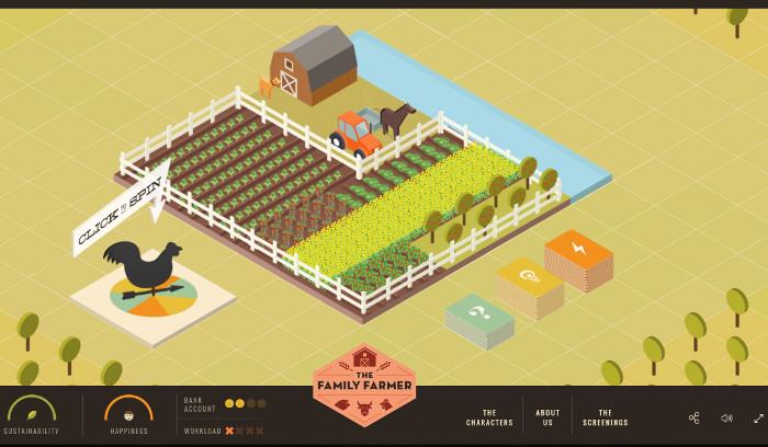 Le jeu The Family Farmer a été réalisé par le studio montréalais Dpt.